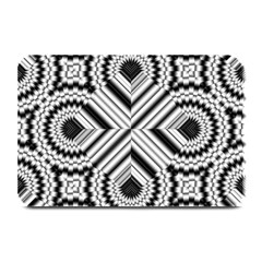 Pattern Tile Seamless Design Plate Mats by Amaryn4rt