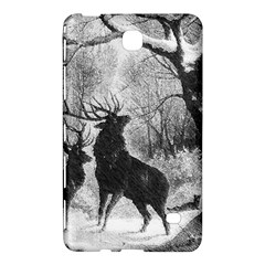 Stag Deer Forest Winter Christmas Samsung Galaxy Tab 4 (8 ) Hardshell Case  by Amaryn4rt