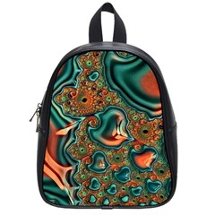 Painted Fractal School Bags (small)  by Fractalworld