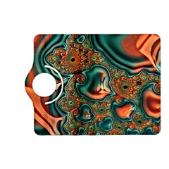 Painted Fractal Kindle Fire Hd (2013) Flip 360 Case by Fractalworld
