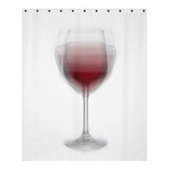 Wine Glass Steve Socha Shower Curtain 60  X 72  (medium)  by WineGlassOverlay