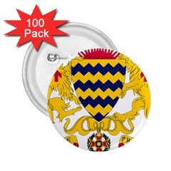 Coat Of Arms Of Chad 2 25  Buttons (100 Pack)  by abbeyz71