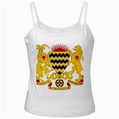 Coat Of Arms Of Chad Ladies Camisoles by abbeyz71