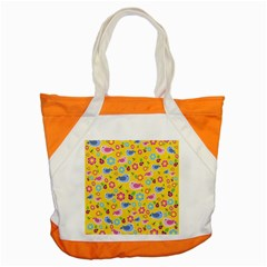Spring Pattern   Yellow Accent Tote Bag by Valentinaart