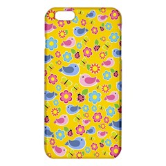 Spring Pattern   Yellow Iphone 6 Plus/6s Plus Tpu Case by Valentinaart