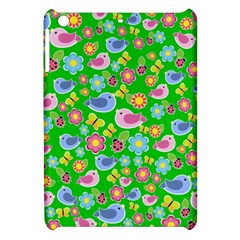 Spring Pattern   Green Apple Ipad Mini Hardshell Case by Valentinaart