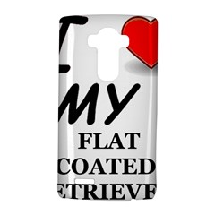 Flat Coated Ret Love LG G4 Hardshell Case by TailWags