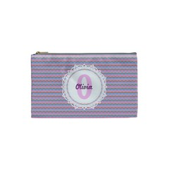 O for Olivia Cosmetic Bag (Small) by daydreamer