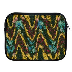 Painted Waves                                                        			apple Ipad 2/3/4 Zipper Case by LalyLauraFLM