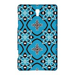 Ornamental Flowers Pattern                                                        samsung Galaxy Tab S (8 4 ) Hardshell Case by LalyLauraFLM