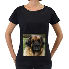 Leonberger 2 Women s Loose-Fit T-Shirt (Black) by TailWags
