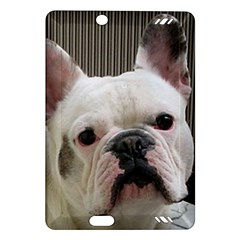 French Bulldog White Amazon Kindle Fire HD (2013) Hardshell Case by TailWags