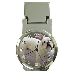 French Bulldog Full Money Clip Watches