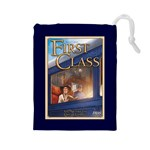 First Class - Drawstring Pouch (Large)