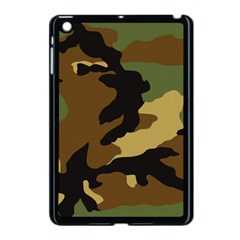 Army Camouflage Apple iPad Mini Case (Black) by Jojostore