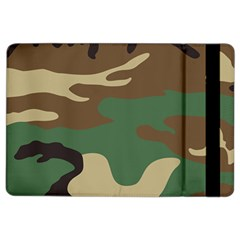 Army Shirt Green Brown Grey Black iPad Air 2 Flip by Jojostore