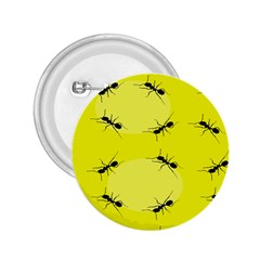 Ant Yellow Circle 2 25  Buttons by Jojostore