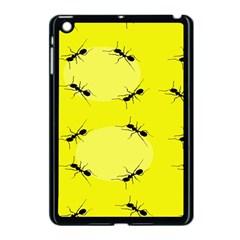 Ant Yellow Circle Apple Ipad Mini Case (black) by Jojostore