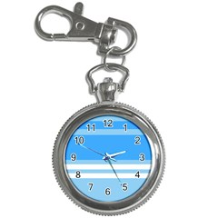 Blue Horizon Graphic Simplified Version Key Chain Watches by Jojostore