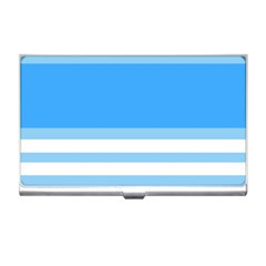 Blue Horizon Graphic Simplified Version Business Card Holders by Jojostore