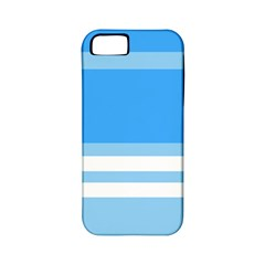 Blue Horizon Graphic Simplified Version Apple Iphone 5 Classic Hardshell Case (pc+silicone) by Jojostore