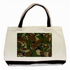 Army Shirt Grey Green Blue Basic Tote Bag by Jojostore