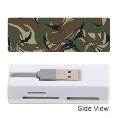 Army Shirt Grey Green Blue Memory Card Reader (stick)  by Jojostore