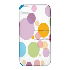 Bubble Water Yellow Blue Green Orange Pink Circle Apple Iphone 4/4s Hardshell Case With Stand by Jojostore