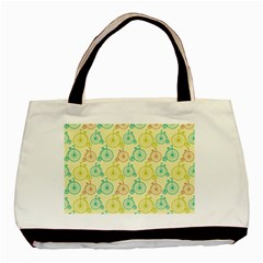 Wheel Bike Round Sport Color Yellow Blue Green Red Pink Basic Tote Bag (two Sides) by Jojostore