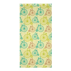Wheel Bike Round Sport Color Yellow Blue Green Red Pink Shower Curtain 36  X 72  (stall)  by Jojostore