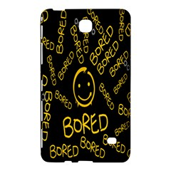 Bored Face Smile Sign Yellow Black Mask Samsung Galaxy Tab 4 (7 ) Hardshell Case  by Jojostore