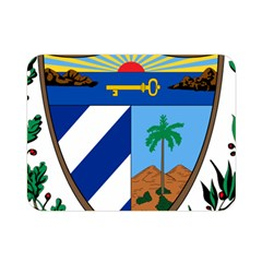 Coat Of Arms Of Cuba Double Sided Flano Blanket (mini)  by abbeyz71
