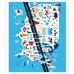 10 Days In The Usa Grab Bag Rv Trip By David Gullett   Drawstring Pouch (large)   4zazv8moptit   Www Artscow Com Front
