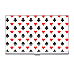 Curly Heart Card Red Black Gambling Game Player Business Card Holders by Jojostore