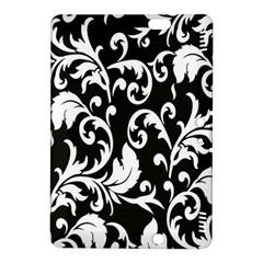 Clasic Floral Flower Black Kindle Fire Hdx 8 9  Hardshell Case by Jojostore