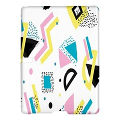 Design Elements Illustrator Elements Vasare Creative Scribble Blobs Yellow Pink Blue Samsung Galaxy Tab S (10.5 ) Hardshell Case  by Jojostore