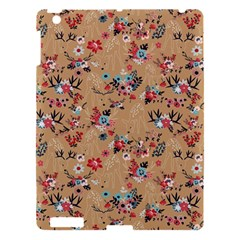 Deer Cerry Animals Flower Floral Leaf Fruit Brown Apple Ipad 3/4 Hardshell Case by Jojostore