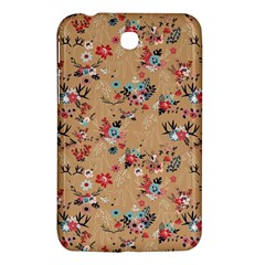 Deer Cerry Animals Flower Floral Leaf Fruit Brown Samsung Galaxy Tab 3 (7 ) P3200 Hardshell Case  by Jojostore