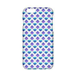 Diamond Heart Card Purple Valentine Love Blue Apple Iphone 6/6s Hardshell Case by Jojostore