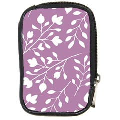 Floral Flower Leafpurple White Compact Camera Cases by Jojostore