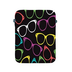 Glasses Color Pink Mpurple Green Yellow Blue Rainbow Black Apple Ipad 2/3/4 Protective Soft Cases