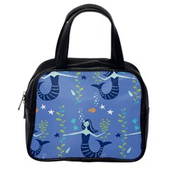 Little Mermaid Star Fish Sea Water Classic Handbags (one Side) by Jojostore