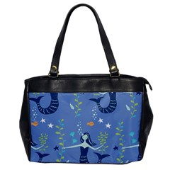 Little Mermaid Star Fish Sea Water Office Handbags by Jojostore