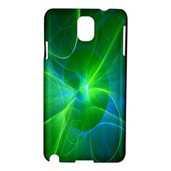 Line Green Light Samsung Galaxy Note 3 N9005 Hardshell Case