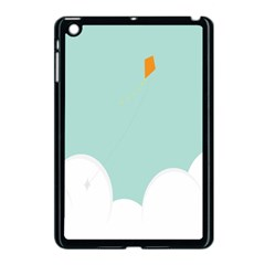Minimalis Kite Clouds Orange Blue Sky Apple Ipad Mini Case (black) by Jojostore