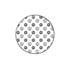 Month Moon Sun Star Hat Clip Ball Marker by Jojostore