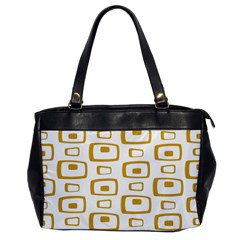 Plaid Gold Office Handbags by Jojostore