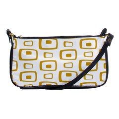 Plaid Gold Shoulder Clutch Bags by Jojostore