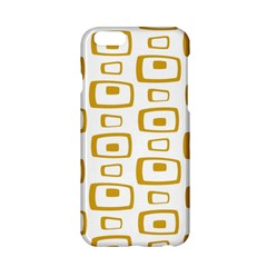 Plaid Gold Apple Iphone 6/6s Hardshell Case by Jojostore