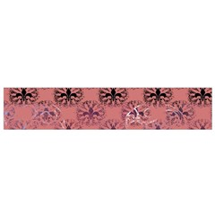 Overlays Pink Flower Floral Flano Scarf (small) by Jojostore